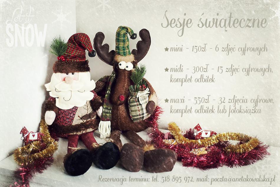 sesje świąteczne Łódź