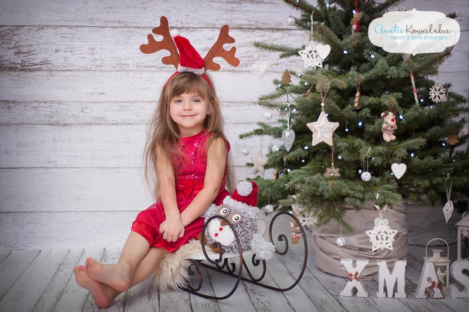 świąteczna sesja fotograficzna