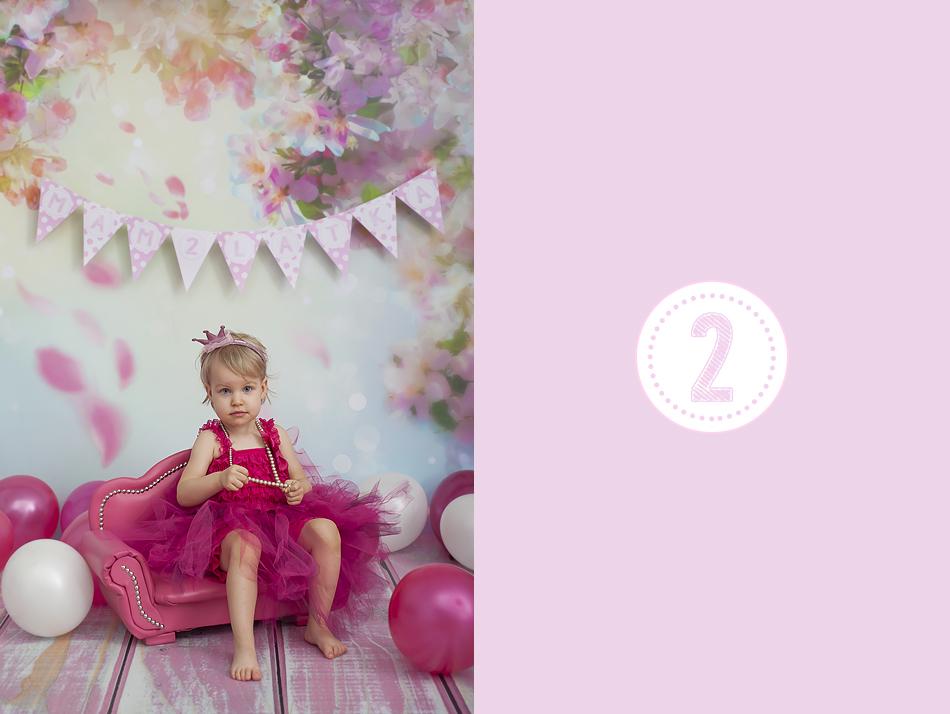 Sesja urodzinowa na 2 latka